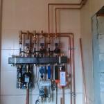 Замена насоса отопления