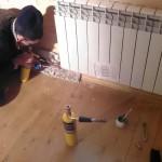 Демонтаж старых батарей в квартире