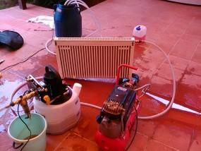 Замена теплоносителя отопления