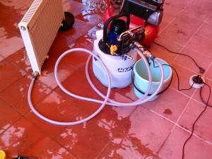 Замена антифриза отопления