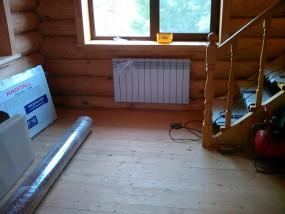 Отопление дома на пеллетах
