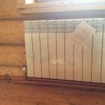Автономное отопление дачи