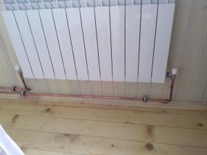 Отопление дачи настенным газовым котлом