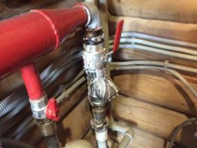 Отопление дачи напольным газовым котлом