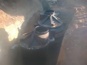 Монтаж профессиональной канализации