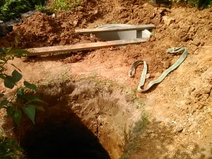 Установка автономной канализации коттеджа
