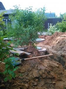 Монтаж автономной канализации дома