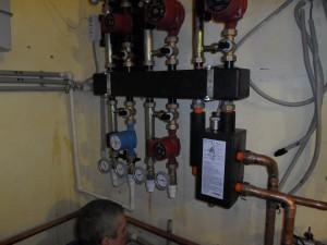 Монтаж газового отопления дома